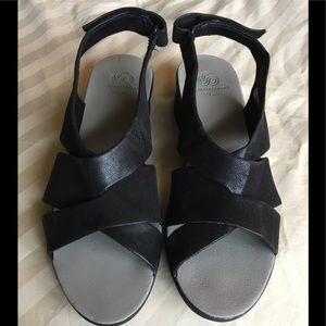 Cloudsteppers by Clark's black sandals